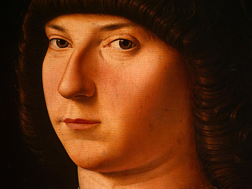 Portrait of a Young Man by Antonello Di Giovanni Di Antonio (Antonello Da Messina) (1430-1479, Italy) | Reproductions Antonello Di Giovanni Di Antonio (Antonello Da Messina) | WahooArt.com