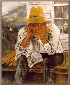benjamin shahn Years of dust by benjamin shahn (fine art art reproduction benjamin shahn) ben shahn - google search see more.