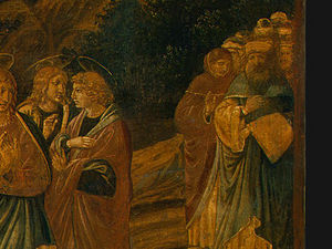 Benozzo Gozzoli - The Raising of Lazarus