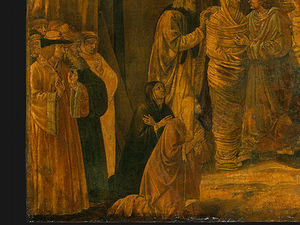 Benozzo Gozzoli - The Raising of Lazarus (8)