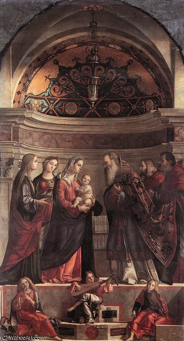 Presentation of Jesus in the Temple by Vittore Carpaccio (1465-1526, Italy)