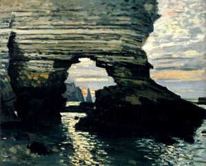 Claude Monet - La Porte D'Amount Etretat
