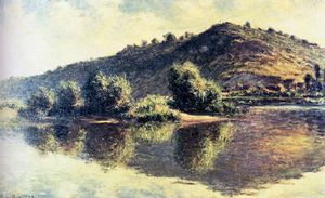 Claude Monet - the seine at port villez