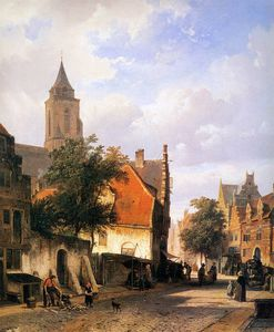 Cornelius Springer - Church in Zaltbommel