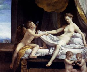 Antonio Allegri Da Correggio - jupiter and io