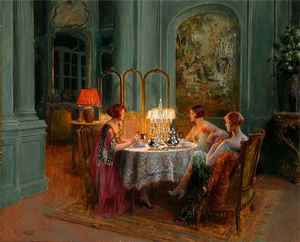Delphin Enjolras - high tea and gossip