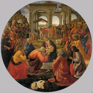 Domenico Ghirlandaio - adoration of the magi