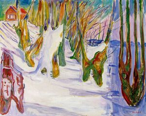 Edvard Munch - old trees