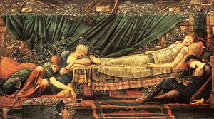 Edward Coley Burne-Jones - briar rose, rose bower