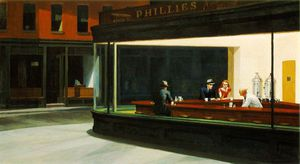 Edward Hopper - nighthawks