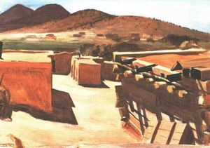 Edward Hopper - adobe houses