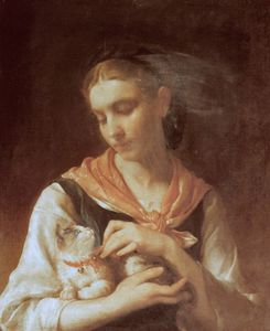 Emile Munier - the favorite kitten