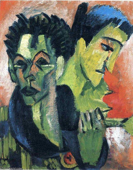 untitled by Ernst Ludwig Kirchner (1880-1938, Germany)