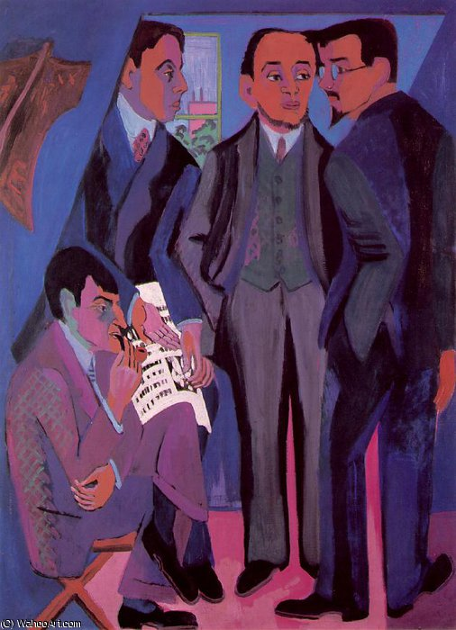 artists by Ernst Ludwig Kirchner (1880-1938, Germany) | Museum Quality Reproductions | WahooArt.com