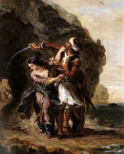 Eugène Delacroix - Eugene The Bride of Abydos