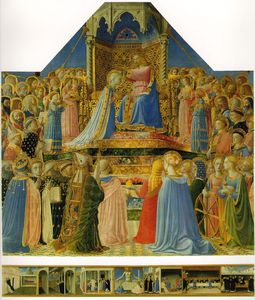 Fra Angelico - Coronation of the Virgin Altarpiece from San Domenico