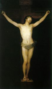 Francisco De Goya - crucified christ
