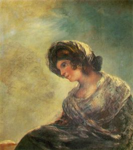 Francisco De Goya - the milkmaid