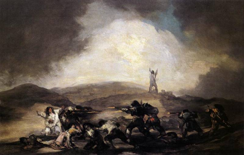 robbery by Francisco De Goya (1746-1828, Spain)