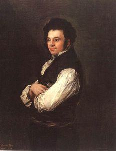 Francisco De Goya - the architect don tiburcio perezy cuervo