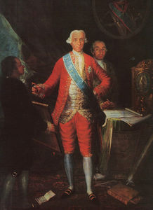 Francisco De Goya - The Count of Floridablanca
