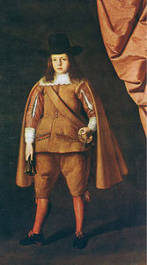 Buy Museum Art Reproductions | Portrait of the Duke of Medinaceli by Francisco Zurbaran (1598-1664, Spain) | WahooArt.com