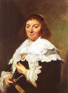 Frans Hals - Maria Pietersdochter Olycan - oil on canvas