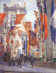 Frederick Childe Hassam - avenue of the allies