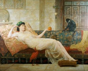 Frederick Goodall - A Dream of Paradise