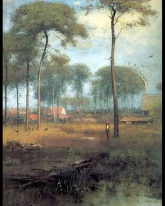 George Inness - early morning