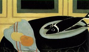 Georges Braque - Black fish