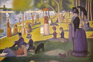 Georges Pierre Seurat - A Sunday Afternoon on the Island of La Grande Jatte