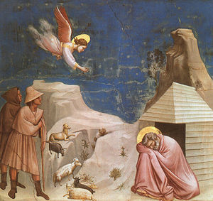 Giotto Di Bondone - joachim-s dream