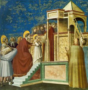 Giotto Di Bondone - Presentation of the virgin
