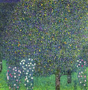 Gustav Klimt - Roses under the Trees