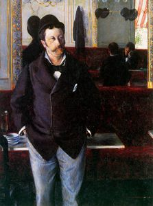 Gustave Caillebotte - In the cafe Sun