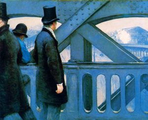 Gustave Caillebotte - The Europa bridge Sun