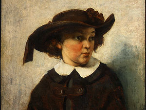 Gustave Courbet - Portrait of a Young Girl