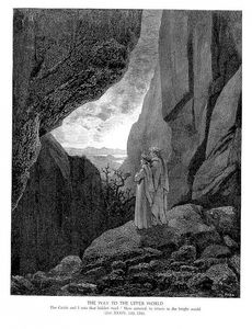 Paul Gustave Doré - The Way to the Upper World