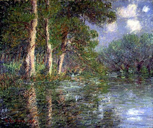 Gustave Loiseau - A Bend in the Eure