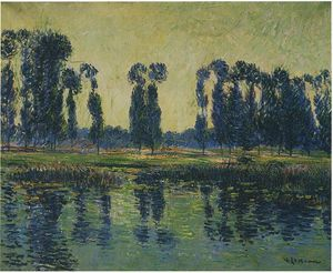 Gustave Loiseau - By the Eure River