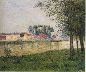 Gustave Loiseau - By the Oise at Parmain