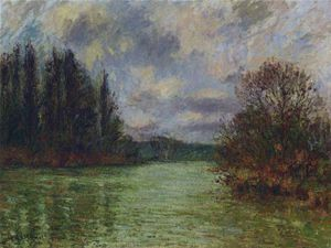 Gustave Loiseau - By the Oise River