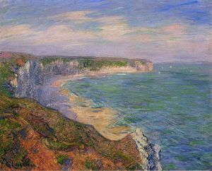 Gustave Loiseau - Cliffs at Fecamp in Normandy