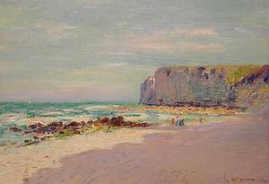 Gustave Loiseau - Cliffs at Petit Dalles Normandy