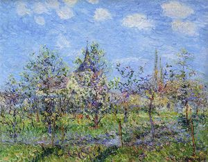 Gustave Loiseau - Trees in Bloom