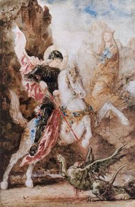 Gustave Moreau - st george