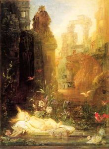 Gustave Moreau - young moses