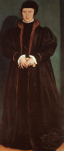 Hans Holbein The Younger - Christina of Denmark