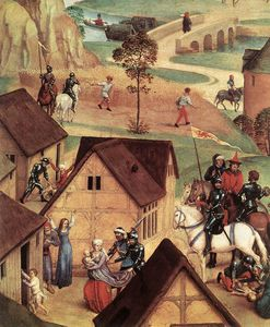 Hans Memling - Advent and Triumph of Christ (detail 1) -